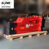 Cthb81 1400 Yantai Rock martillo hidráulico rompedor de piedra de la excavadora para 20 toneladas