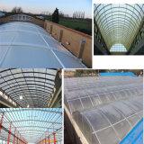 Fabricant lucarne en fibre de verre de feuilles de toiture en carton ondulé en PRF