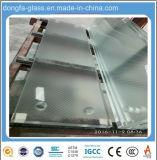 Verre de haute qualité pour les droites/escalier hélicoïdal avec escalier en verre &de la voie de la main courante de verre/Rambarde/balustrade