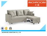 Popular funcional Muebles de salón sofá-cama de tela
