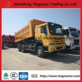 판매를 위한 중국 HOWO 371HP 6X4 30tons 팁 주는 사람 트럭