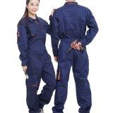 卸し売り働くつなぎ服の綿の建設作業員工学労働者のつなぎ服