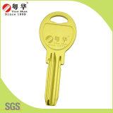 Preço de fábrica Atacado Titanium Key, Key Blank, Blank Key