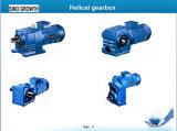 Motores con caja reductora helicoidal kw 5.5