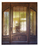 Классический ручной работы славный внешний утюг одиночная дверь с приложениями