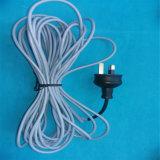 4 m de câble chauffant Reptile en caoutchouc de silicone dans l'usine chinoise