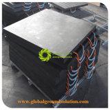 黒いColor/HDPE材料か優秀な衝撃強度クレーンアウトリガーパッドまたは道のマット