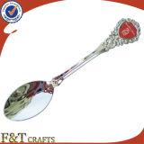 Ricordo Cast Iron Metal Nickel Plated Spoon con Custom Logo (FTSS2925A)