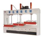 Machine froide hydraulique de travail du bois de presse pour le panneau