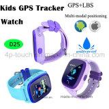 Miúdos GPS que seguem o telefone esperto do relógio com função impermeável (D25)
