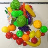Familien-Dekoration-schönes Plastikobst- und gemüseBildschirmanzeige-Spielzeug