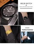 Belbi 남자 사업 석영 시계 형식 시계