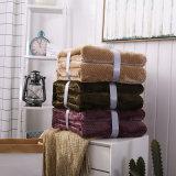 フランネルの羊毛毛布カスタム安く柔らかいポリエステル羊毛毛布