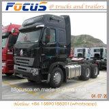 최고 중국 트랙터 Sinotruck 6*4 336HP 371HP 420HP Zz4257V3249W