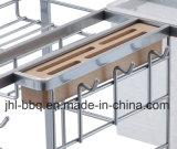 Stahldraht Ultensil Zahnstange für Schrank