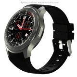 reloj elegante androide del teléfono 3G con el monitor del ritmo cardíaco (DM368)