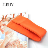 熱い方法女性のためのオレンジチョークバルブのネックレスの宝石類のチョークバルブデザイン