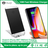 caricatore senza fili portatile di Smartphone del basamento 5With7.5W per il iPhone 8/8 di Plus/X