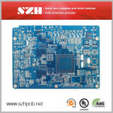 Blue Soldermask LED Fr-4 placa de circuito impreso 6layer PCB