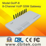 8 canales GSM Gateway VoIP GoIP8