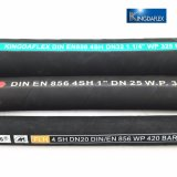 La norme SAE R1à haute pression de fluide hydraulique flexible en caoutchouc de l'alimentation