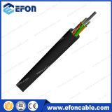Loose Tube 12 núcleos monomodo no Metalico cable de fibra óptica