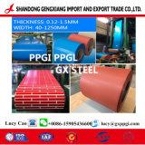 Vooraf geverft Gegalvaniseerd Staal PPGI voor het Blad van het Dakwerk van Fabriek Shandong