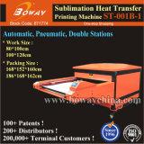 Imprimante chaude de T-shirt de transfert thermique de sublimation pneumatique automatique de 2 stations de tailles importantes