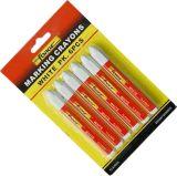 6PCS 비독성 방수 표하기 크레용 마킹 펜 마커 빨강