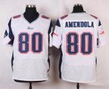 Pullover bianco in bianco di football americano di colore rosso blu del blu marino dell'elite della Nuova Inghilterra Danny Amendola Rob Gronkowski dei bambini dei capretti delle donne poco costose del Mens, abitudine qualsiasi nome qualsiasi numeri