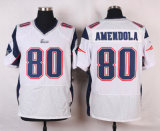 В Новой Англии пустым Дэнни Amendola Rob Gronkowski американского футбола футболках NIKEID