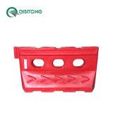 1400mm / 55 moulage par rotation, le trafic de haute en plastique remplis d'eau barrier barrière de sécurité d'escrime du véhicule