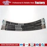 Le couvercle en caoutchouc flexible 21.5MPa 1sn-8 Flexible hydraulique