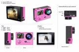 Vr360 4k Ultra HD Dual Screen WiFi Extreme Sport Câmera de ação ao ar livre Controlador 2.4G