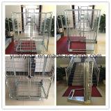 Паллет крена сетки пакгауза двери ячеистой сети Split/контейнер крена покрынные цинком