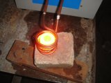 Forno de fusão de freqüência média de ouro, prata, cobre, alumínio Aquecimento