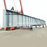 Träger-Hochleistungsträger-langer Rohr-Transport-hydraulischer Transportwagen-halb Brücken-Schlussteil