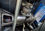 Airend를 가진 주파수 충전기 압축기와 품는 것에 있는 모터