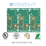 Multilayer High Tg 3.2mm Contrôle d'impédance Sélectif Hard Gold Circuit Board