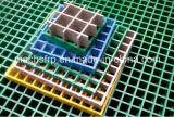 915mmx3050mm Fiberglas geformte Vergitterung mit hochfestem