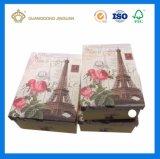 Boîte-cadeau de carton de Handmaded estampée par coutume (cadre de Lid&Bottom)