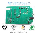 De 1,6 mm de espesor con la creación de prototipos electrónicos placa PCB sin plomo HASL