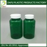 frasco plástico da medicina do animal de estimação 950ml com o tampão da parte superior da aleta