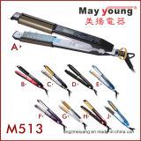 Fabricação de alisadores para cabelo Straighten and Curling 2 em 1 Design