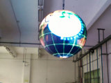 Personalizado Indoor P4.8 LED Video Ball / Sphere Display Screen (1800mm de diâmetro)