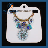 Bijoux en PVC Necklace Carte Blanche (CMG-052)