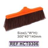Testa di plastica della scopa della spazzola di pulizia (HCT0301)
