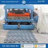 Гальванизированная панель плитки крыши металла PPGI стальная формируя машину