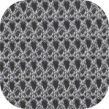 Warp вязания Sportwear полиэфирная ткань Mesh воздуха