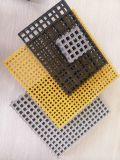 Grating moldado FRP da resistência de impato com engranzamento de H25 19*19